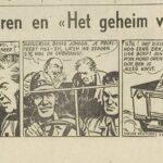 Paul Vlaanderen strip Het geheim van de safari 22