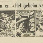 Paul Vlaanderen strip Het geheim van de safari 29