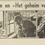 Paul Vlaanderen strip Het geheim van de safari 44