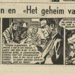 Paul Vlaanderen strip Het geheim van de safari 52