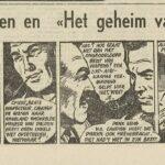 Paul Vlaanderen strip Het geheim van de safari 62