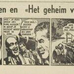 Paul Vlaanderen strip Het geheim van de safari 63 einde