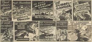 Paul Vlaanderen strip banner
