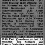 Paul Vlaanderen artikel in De Vrije Pers (Soerabaja) van 2 maart 1949