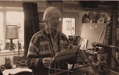 Léon Povel leest aankondiging