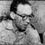 Acteur Soerabaja Radio Toneel - Eerste luitenant B. Breedveld