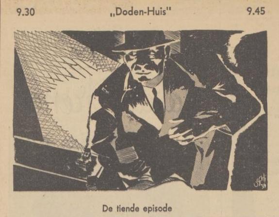 Uit de gids: 1939 Deel 10 Dodenhuis