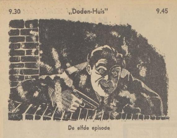 Uit de gids: 1939 Deel 11 Dodenhuis