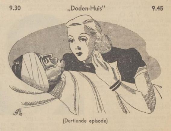 Uit de gids: 1939 Deel 13 Dodenhuis