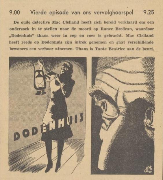 Uit de radiogids: 1940 Deel 04 Dodenhuis