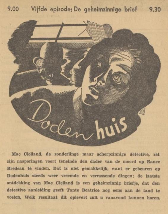Uit de radiogids: 1940 Deel 05 Dodenhuis