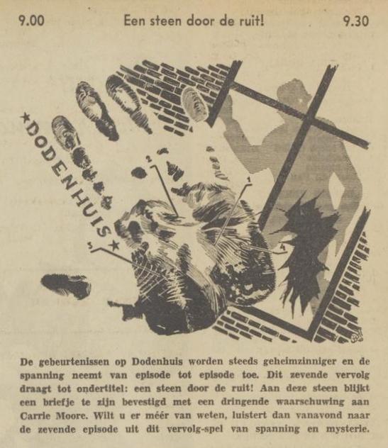 Uit de radiogids: 1940 Deel 06 Dodenhuis