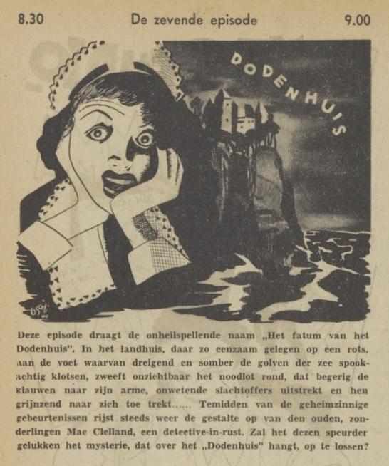 Uit de radiogids: 1940 Deel 07 Dodenhuis