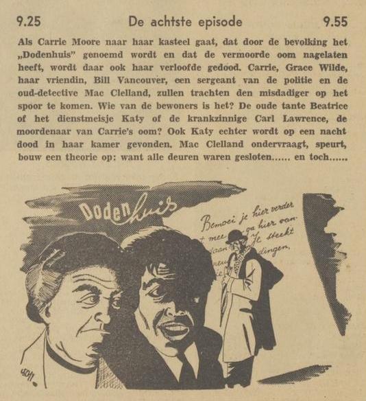 Uit de radiogids: 1940 Deel 08 Dodenhuis