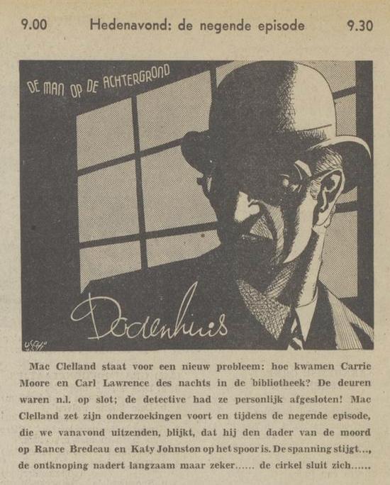 Uit de radiogids: 1940 Deel 09 Dodenhuis
