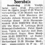 Dodenhuis 1949-10-06, De Vrije Pers (Soerabaja)
