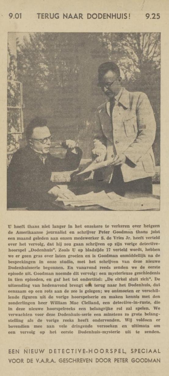 Uit de VARA gids 11 mei 1940 - informatie 02