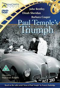 1950 Paul Temple's Triumph Filmposter