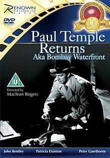 1952 Paul Temple Returns FilmPoster
