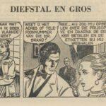 Paul Vlaanderen strip Diefstal en Gros 16
