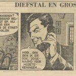 Paul Vlaanderen strip Diefstal en Gros 18