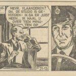 Paul Vlaanderen strip Diefstal en Gros 21