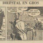 Paul Vlaanderen strip Diefstal en Gros 39