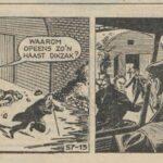Paul Vlaanderen strip Diefstal en Gros 57