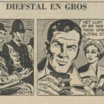 Paul Vlaanderen strip Diefstal en Gros 60