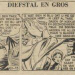 Paul Vlaanderen strip Diefstal en Gros 61