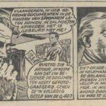 Paul Vlaanderen strip Het Q 40 mysterie 14