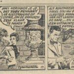 Paul Vlaanderen strip Het Q 40 mysterie 17