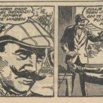 Paul Vlaanderen strip Het Q 40 mysterie 24