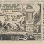 Paul Vlaanderen strip Het gouden masker 01