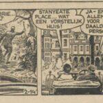 Paul Vlaanderen strip Het gouden masker 02