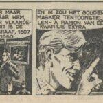 Paul Vlaanderen strip Het gouden masker 07