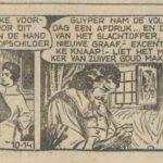 Paul Vlaanderen strip Het gouden masker 10