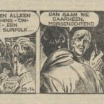 Paul Vlaanderen strip Het gouden masker 22