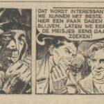 Paul Vlaanderen strip Het gouden masker 34