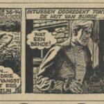 Paul Vlaanderen strip Het gouden masker 36