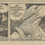 Paul Vlaanderen strip Het gouden masker 37