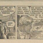 Paul Vlaanderen strip Het gouden masker 38