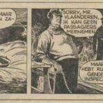 Paul Vlaanderen strip Het gouden masker 45