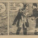 Paul Vlaanderen strip Het gouden masker 55