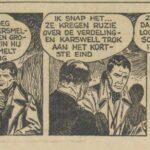 Paul Vlaanderen strip Het gouden masker 69