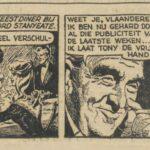 Paul Vlaanderen strip Het gouden masker 70