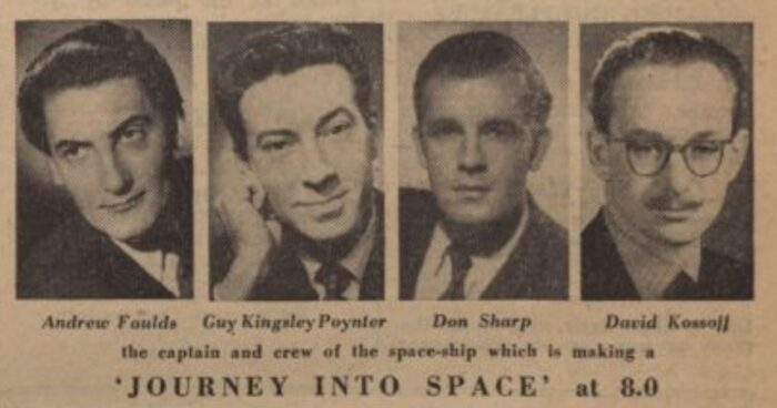 Bemanning Journey to the Moon 05-01-1954