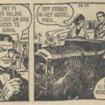 Paul Vlaanderen strip De dodelijke lading 27