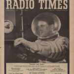 Cover Radio Times van week 05-11 dec 1954 t.t.v. The red planet