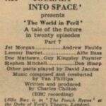 The world in Peril serie 03 - afl. 07 d.d. 07-11-1955